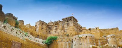 Jaisalmer Panorama Stock Photo