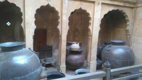 Jaisalmer Patwan& x27; s-hus royaltyfria bilder