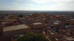 Jaisalmer, Rajasthan, India Antena strza? zbiory wideo