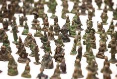 Jaisalmer, Rajasthan, India Miniatuurbronsbeeldjes royalty-vrije stock fotografie