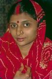 Jaisalmer recentemente sposato Ragiastan India delle giovani donne fotografia stock libera da diritti
