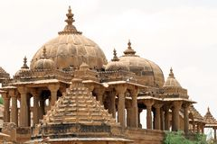 Jaisalmer Temple. Temple at the city of Jaisalmer in India Stock Images