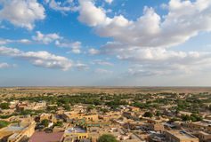Jaisalmer town in Rajasthan Stock Images