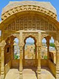 Jaisalmer View. From one of Royal Palace balconies, Rajasthan, India stock image