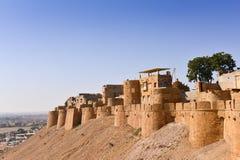 Jaisalmerfort in Westelijk India Stock Afbeelding