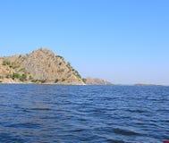 Jaisamand Lake Dhebar Lake near Udaipur, Rajasthan, India Stock Images