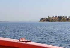 Jaisamand Lake Dhebar Lake near Udaipur, Rajasthan, India. Jaisamand Lake Dhebar Lake is Asia`s second largest artificial lake, situated in Udaipur district Stock Images