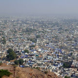 Jaiselmer aerial view Royalty Free Stock Photo