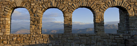 Jaizkibel viewpoint, Gipuzkoa royalty free stock photography