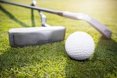 jaja ciupnięcia golf ruch żelaza Obraz Stock