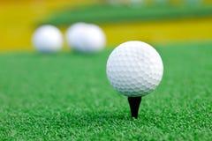 jaja ciupnięcia golf ruch żelaza Obrazy Royalty Free