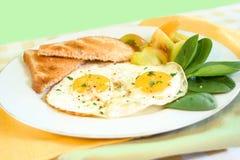 jaja śniadanie Fotografia Stock