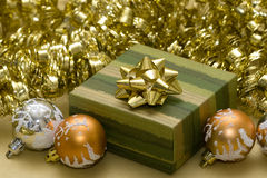 jaja polu świątecznej prezent Zdjęcie Royalty Free