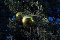 jaja pudełka gałąź święta handbell ozdób obrazy stock