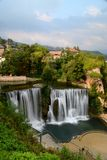 Jajce, Bosna e Hercegovina imagem de stock
