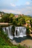 Jajce, Bosna y Hercegovina imagen de archivo