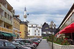 Jajce-Straße Lizenzfreie Stockbilder