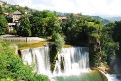 Jajce Waterfall Royalty Free Stock Image