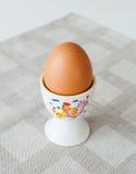Jajeczna filiżanka Fotografia Royalty Free