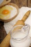 jajeczna mąka Obraz Stock