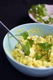 Jajeczna sałatka Zdjęcie Royalty Free