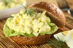 jajeczna sałatkowa kanapka Fotografia Royalty Free