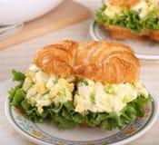 Jajeczna Sałatkowa kanapka Zdjęcie Stock