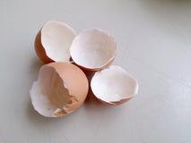 Jajeczna skorupa Gotujący się jajka Obrazy Royalty Free
