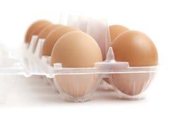 jajeczna taca Obrazy Royalty Free