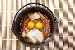 jajeczna wołowiny przepiórka Zdjęcia Royalty Free