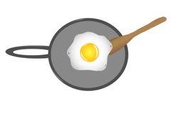 jajeczny boczny pogodny up Fotografia Royalty Free