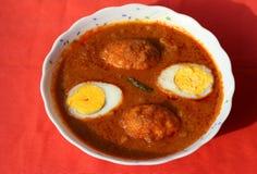Jajeczny curry Zdjęcie Stock