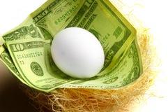 jajeczny gniazdeczko Zdjęcie Stock