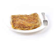 Jajeczny jedzenie obraz stock