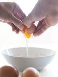Jajeczny kucharstwo. Fotografia Stock