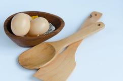 Jajeczny kucharstwo Obrazy Royalty Free