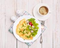 Jajeczny Omelette zdjęcia royalty free
