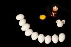 Jajeczny pogrzeb Zdjęcie Royalty Free