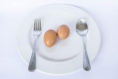 Jajeczny posiłek Zdjęcie Stock