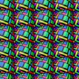 Jajeczny prostokąta wzór Obraz Stock