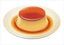 jajeczny pudding Zdjęcie Royalty Free