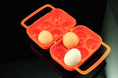 Jajeczny pudełko Fotografia Royalty Free