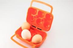 Jajeczny pudełko Zdjęcia Royalty Free
