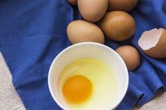 Jajeczny składnik Fotografia Stock