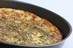 Jajeczny souffle obraz stock