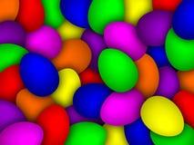 Jajeczny tło Zdjęcia Stock