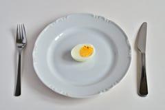 jajeczny talerz Obraz Stock