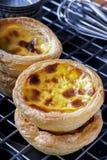 Jajeczny tarta Obrazy Royalty Free