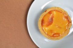 jajeczny tarta Zdjęcia Royalty Free