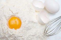 jajeczny yolk Zdjęcia Royalty Free